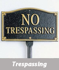 My neighbor keeps trespassing on my property